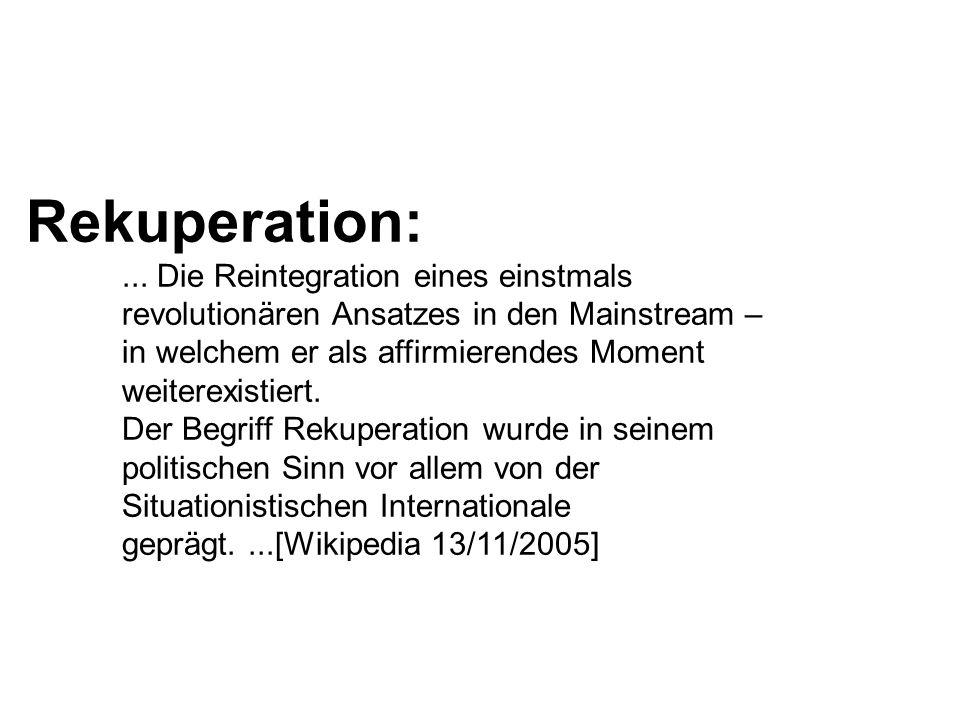 Rekuperation:...