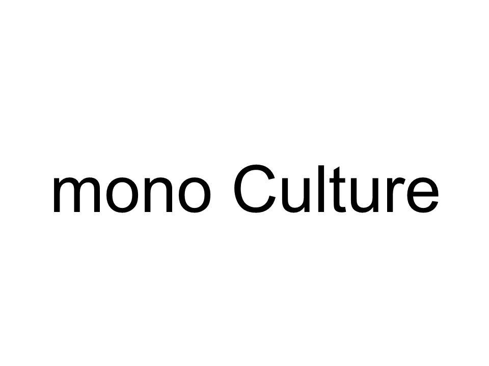 mono Culture