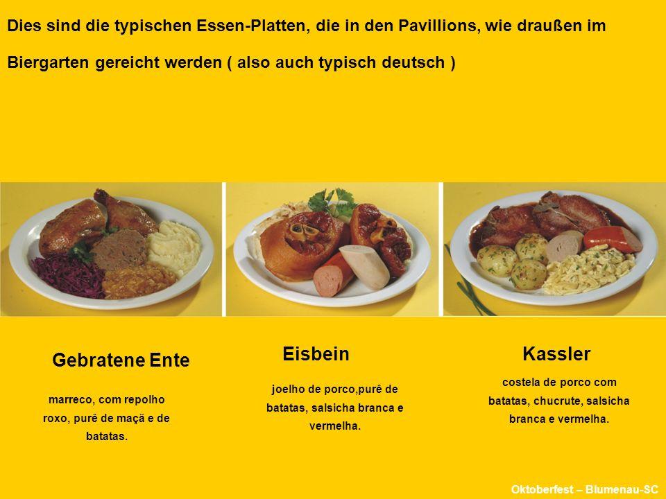 Im Biergarten, ( ou jardim das cervejas ) kann man auch alles vom Oktoberfest bekommen... Oktoberfest Blumenau-SC