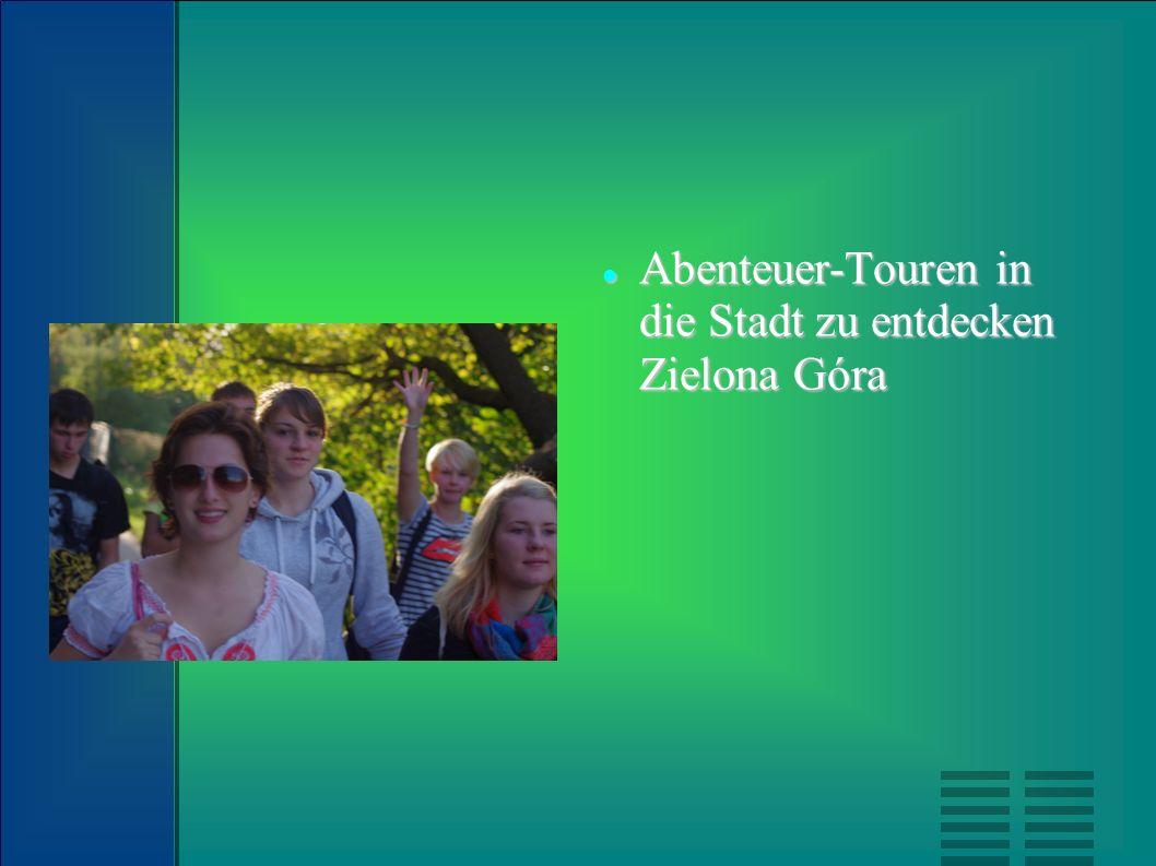 Abenteuer-Touren in die Stadt zu entdecken Zielona Góra Abenteuer-Touren in die Stadt zu entdecken Zielona Góra
