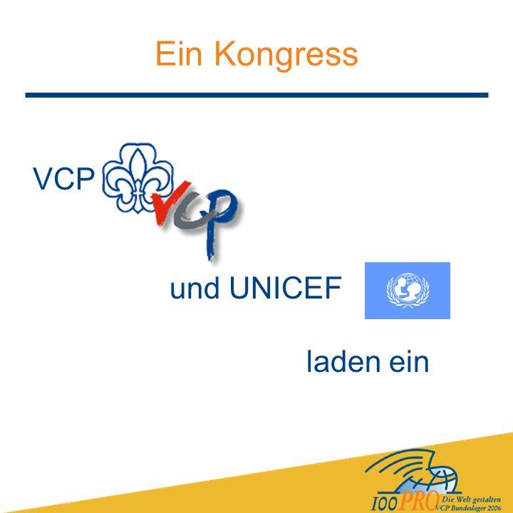 Ein Kongress VCP und UNICEF laden ein