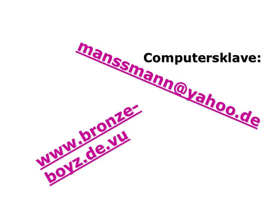 Computersklave: mmmm aaaa nnnn ssss ssss mmmm aaaa nnnn nnnn @@@@ yyyy aaaa hhhh oooo oooo....