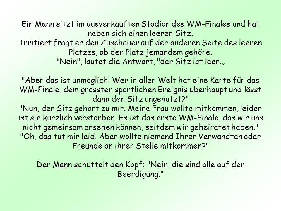 Tod der Schwiegermutter....