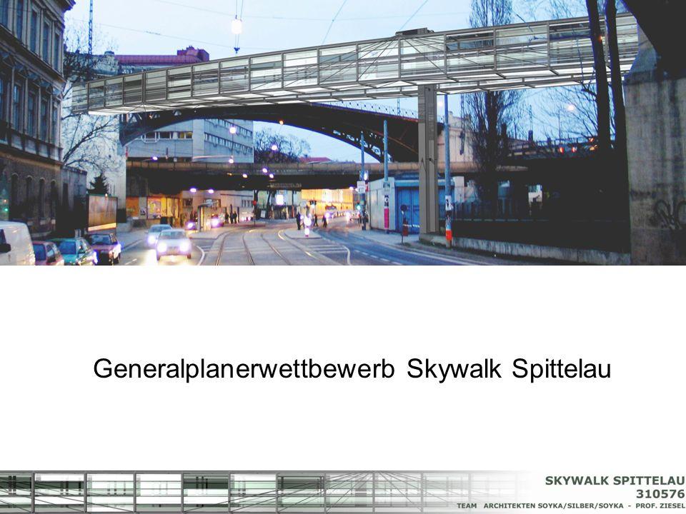 Generalplanerwettbewerb Skywalk Spittelau