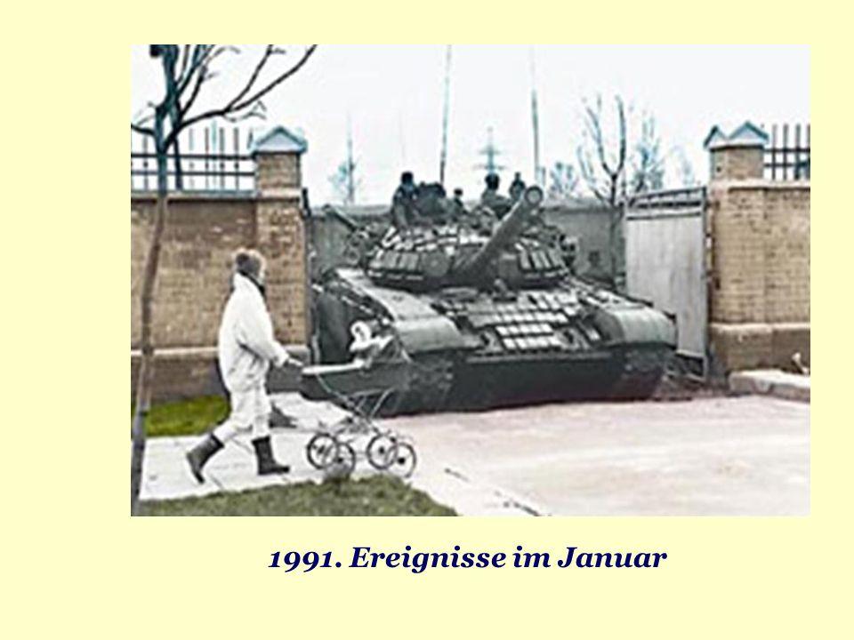 1991. Ereignisse im Januar