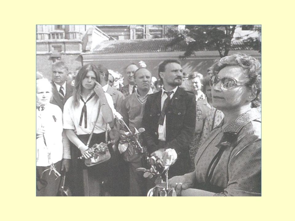 Im Jahre 1988, am Anfang des Sommers bildete sich die litauische Nationalbewegung Sąjūdis heraus.