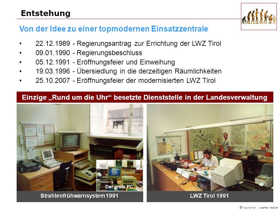 Entstehung © lwz-tirol.