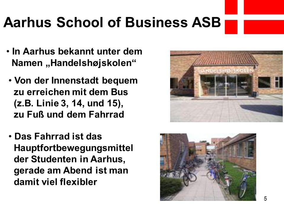 5 Aarhus School of Business ASB In Aarhus bekannt unter dem Namen Handelshøjskolen Von der Innenstadt bequem zu erreichen mit dem Bus (z.B. Linie 3, 1