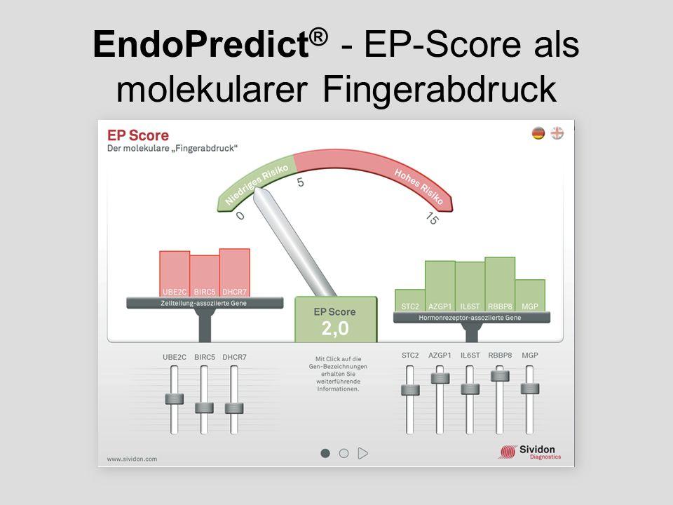 EndoPredict ® - EP-Score als molekularer Fingerabdruck