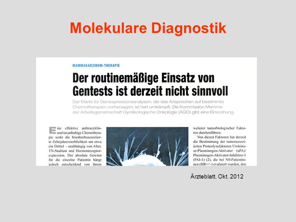 Molekulare Diagnostik Ärzteblatt, Okt. 2012