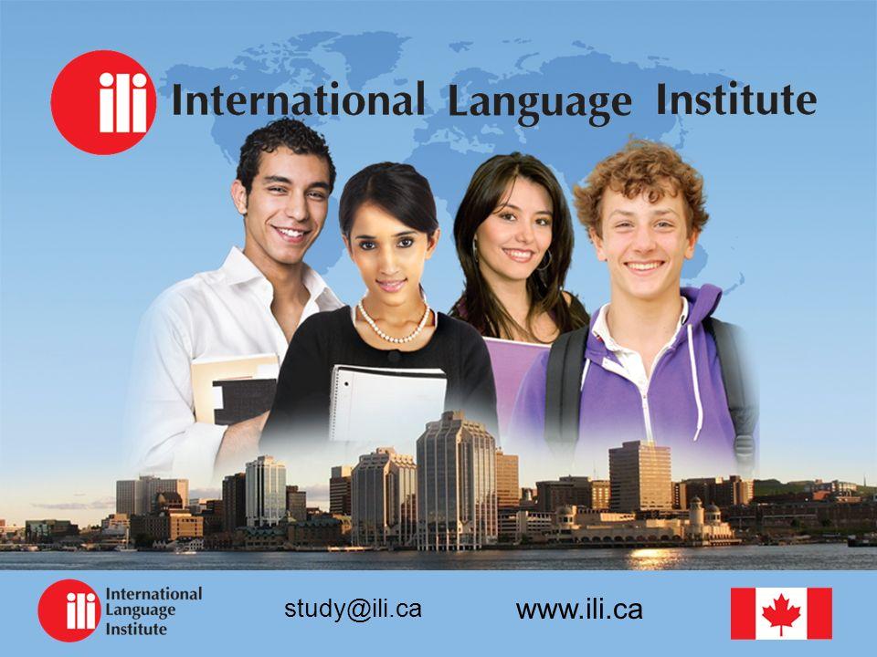 www.ili.ca study@ili.ca