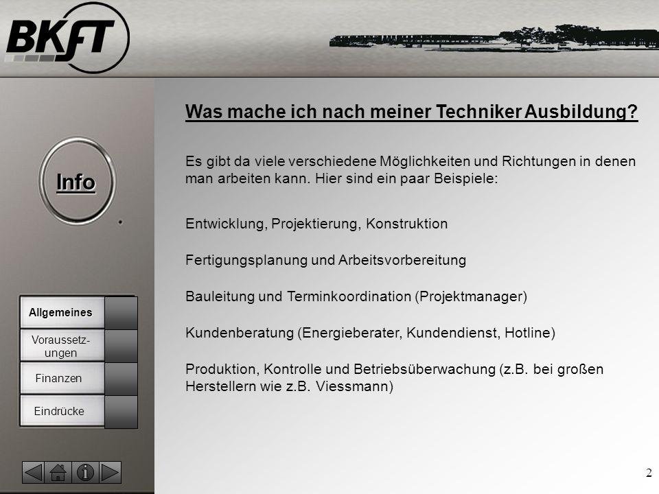 © by T.Fohn Info 2 Was mache ich nach meiner Techniker Ausbildung.