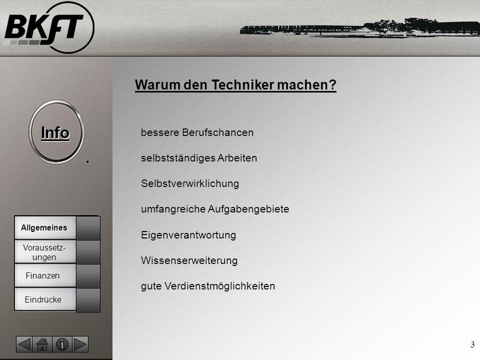 © by T.Fohn Info 3 Warum den Techniker machen.