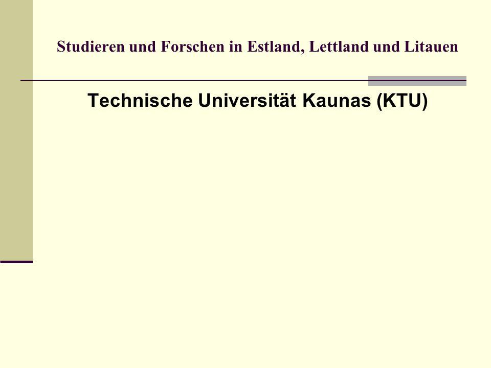 Technische Universität Kaunas (KTU)