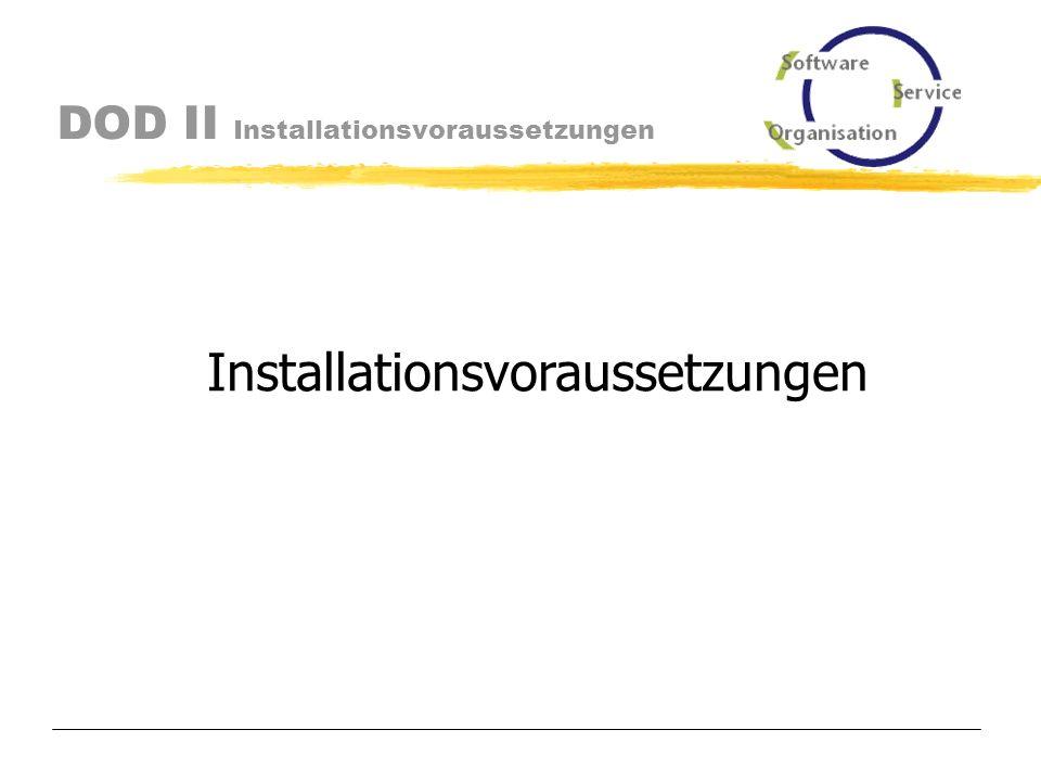 DOD II Variante 3 Scheduler, Bedieneroberfläche und Datenbank werden auf einem Rechner Installiert.