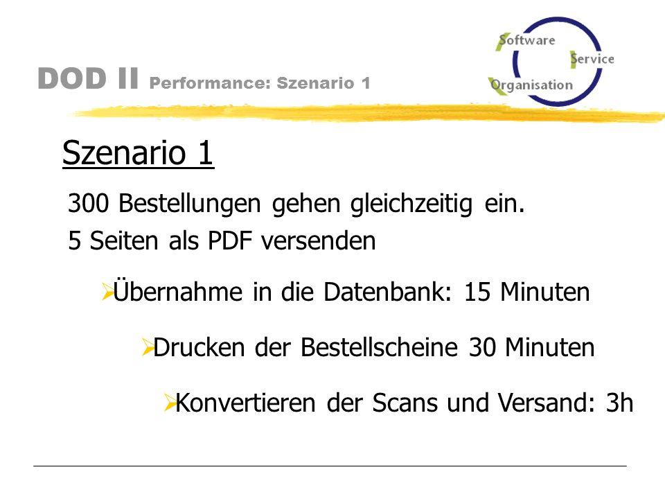 DOD II Performance Performance