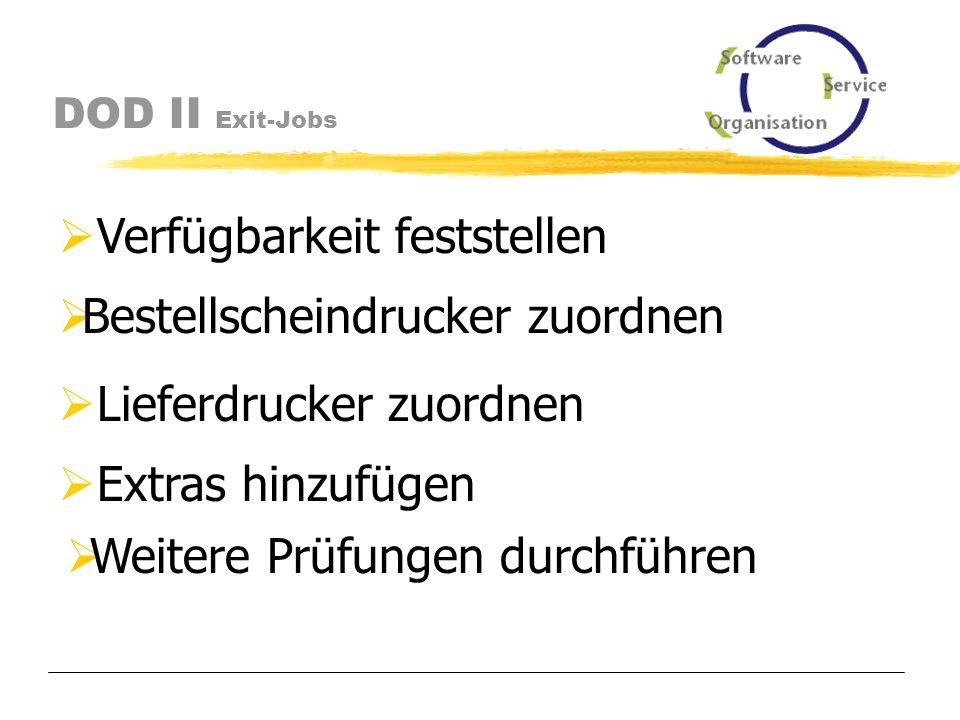 DOD II Exit-Jobs Exit-Jobs