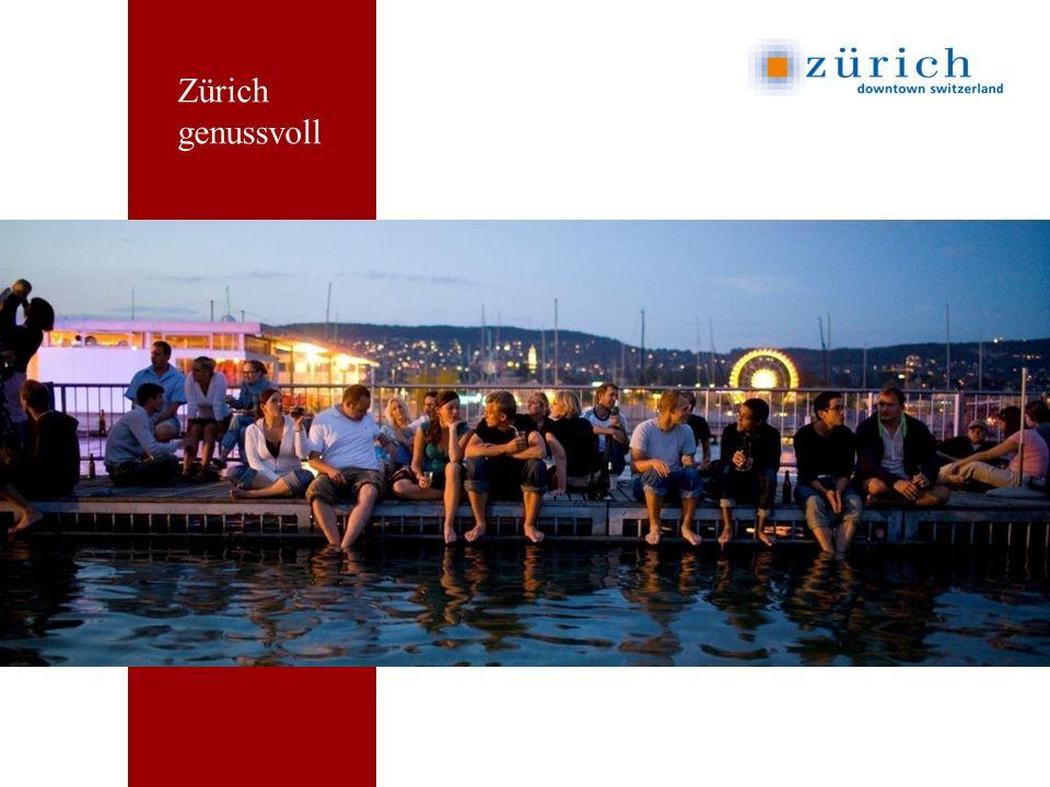 Zürich genussvoll