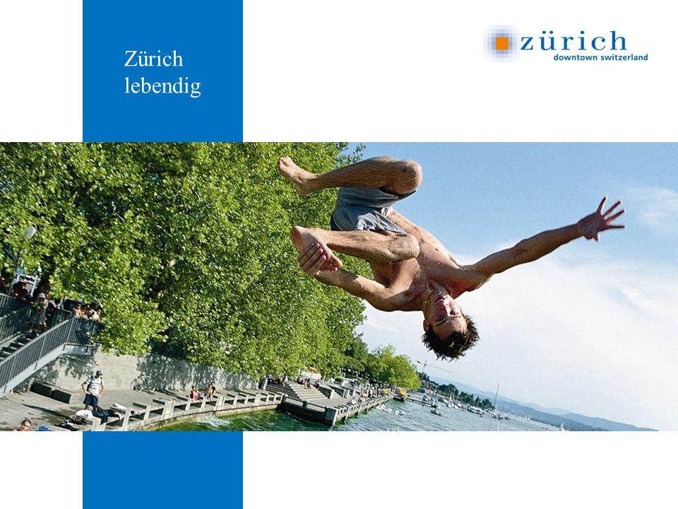 Zürich lebendig