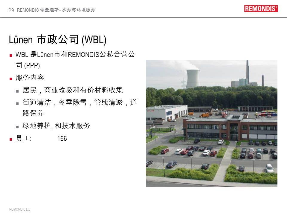 REMONDIS Ltd. REMONDIS – 29 Lünen (WBL) WBL Lünen REMONDIS (PPP) :, :166