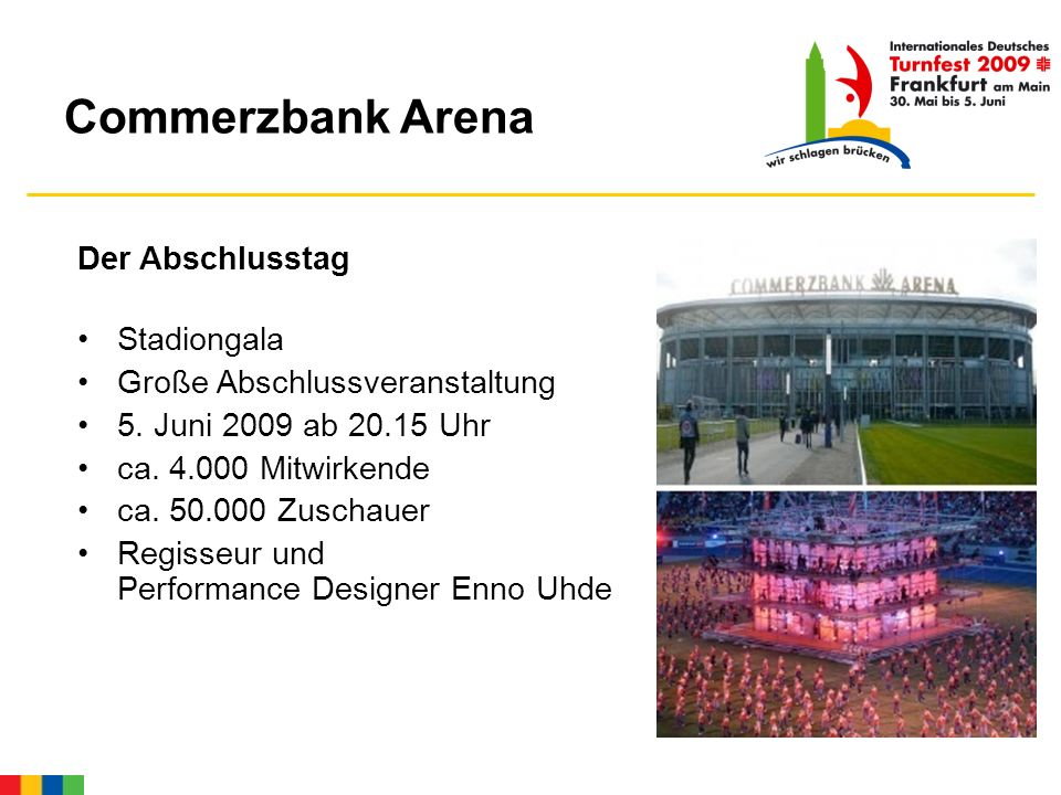 Commerzbank Arena Der Abschlusstag Stadiongala Große Abschlussveranstaltung 5.