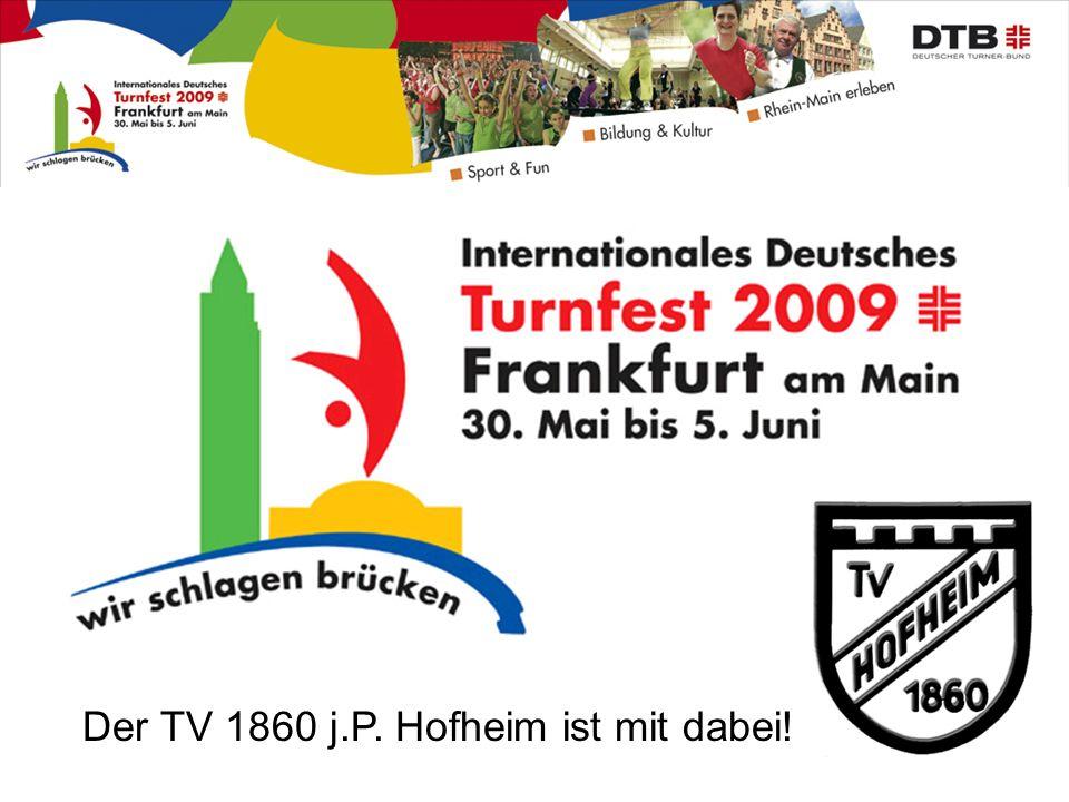 Der TV 1860 j.P. Hofheim ist mit dabei!