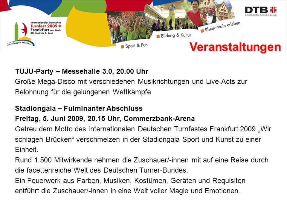 Veranstaltungen Stadiongala – Fulminanter Abschluss Freitag, 5.