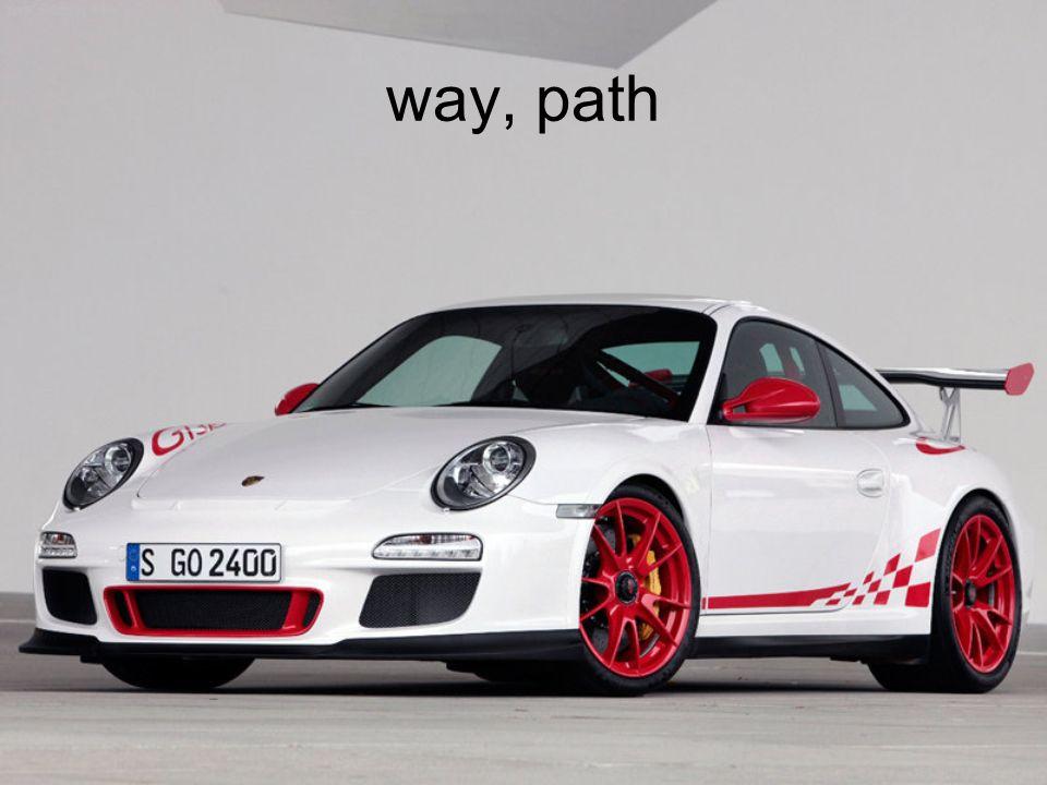 way, path