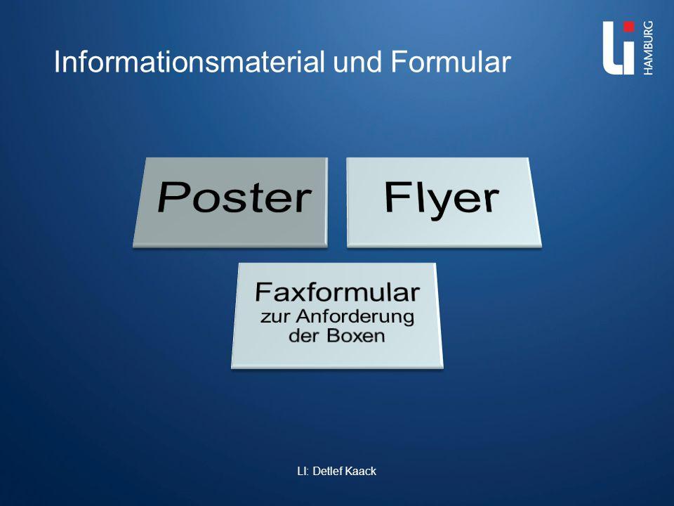 LI: Detlef Kaack Informationsmaterial und Formular