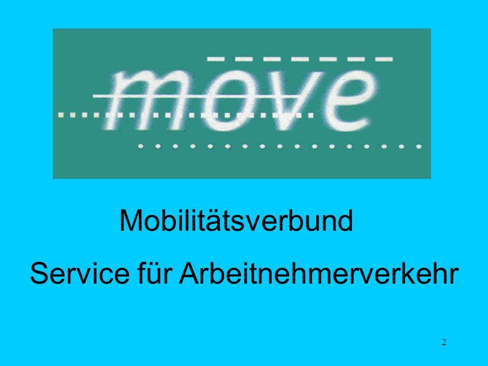 2 Mobilitätsverbund Service für Arbeitnehmerverkehr