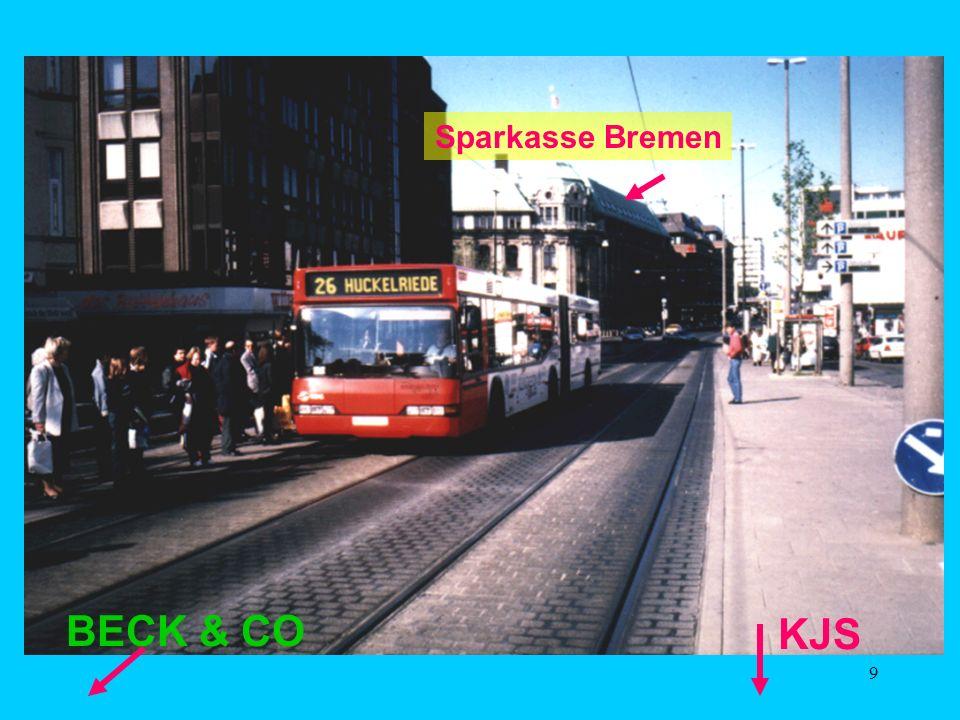 9 Sparkasse Bremen KJS BECK & CO
