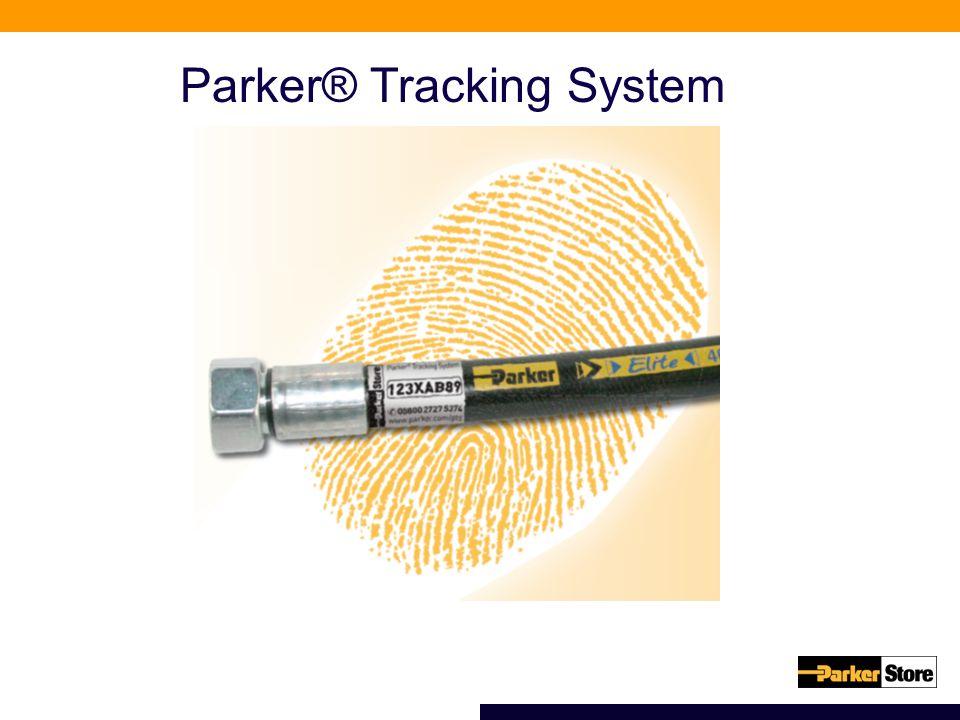 Parker® Tracking System Einzigartig wie ein Fingerabdruck Parker® Tracking System Codierung und System einzigartig wie ein Fingerabdruck
