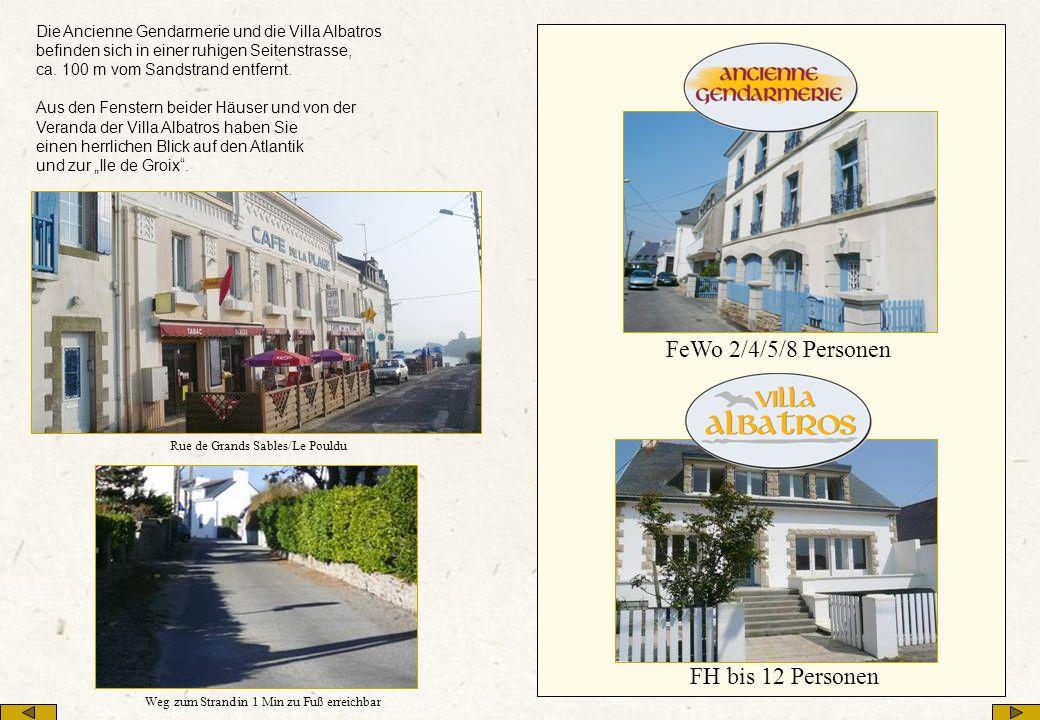 Übergabe Die Ancienne Gendarmerie und die Villa Albatros werden in Frankreich verwaltet.