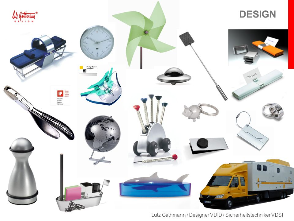 Lutz Gathmann / Designer VDID / Sicherheitstechniker VDSI DESIGN