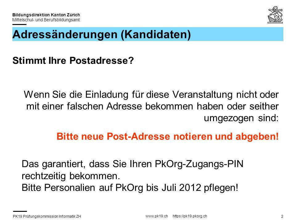PK19 Prüfungskommission Informatik ZH www.pk19.ch https://pk19.pkorg.ch Bildungsdirektion Kanton Zürich Mittelschul- und Berufsbildungsamt 33 Beurteilung mit Kriterien (1) Teil A Berufsübergreifende Fähigkeiten / Präsentation (alle 12 Kriterien sind gegeben) Teil B Qualität Resultat / Doku (IPA-Bericht) (4 Kriterien sind gegeben / 8 müssen passend zur Arbeit ergänzt werden) Doppelt gewichtet.