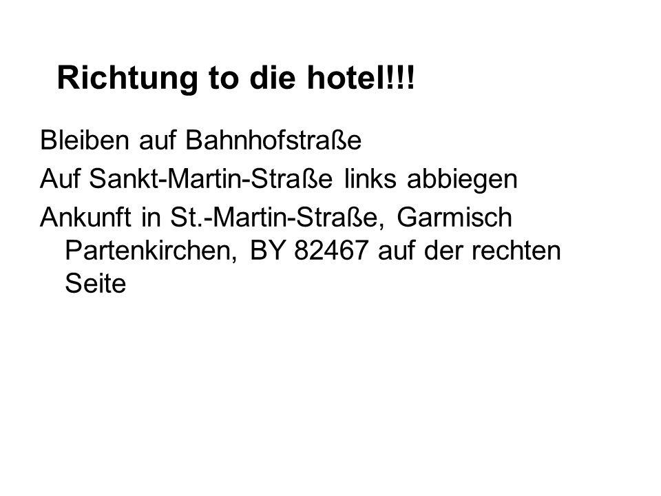 Garmisch habt tourist attraktions.