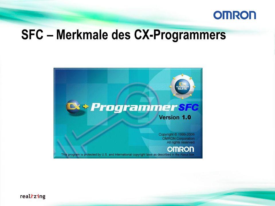 SFC – Merkmale des CX-Programmers