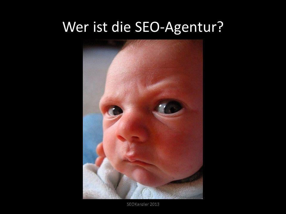 Wer ist die SEO-Agentur SEOKanzler 2013
