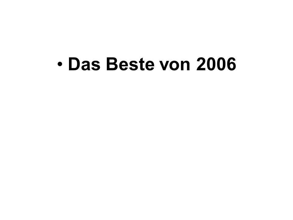 Das Beste von 2006
