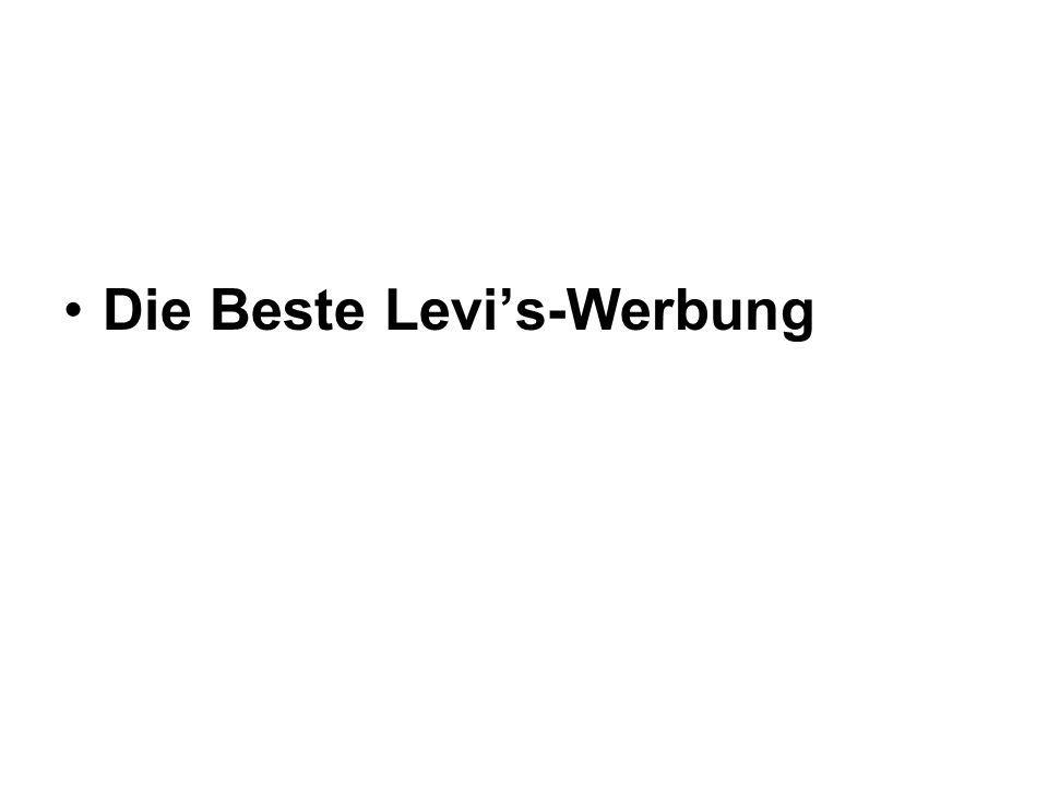 Die Beste Levis-Werbung