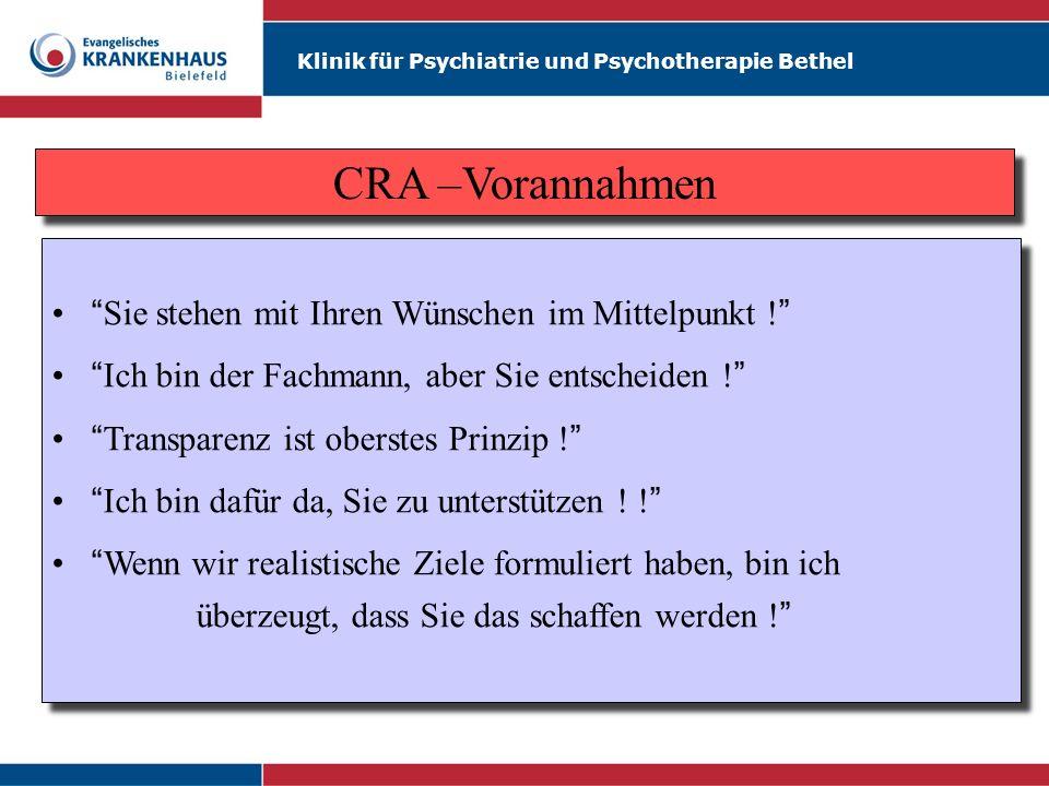 Klinik für Psychiatrie und Psychotherapie Bethel Sie stehen mit Ihren Wünschen im Mittelpunkt ! Ich bin der Fachmann, aber Sie entscheiden ! Transpare