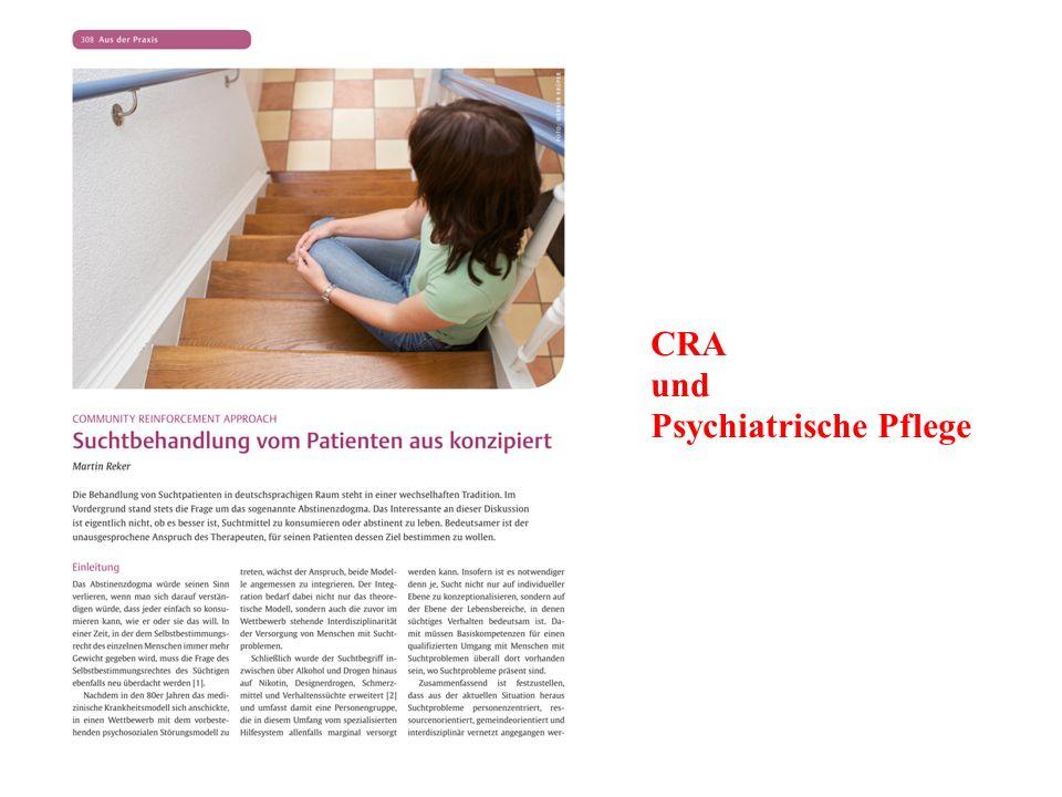 CRA und Psychiatrische Pflege