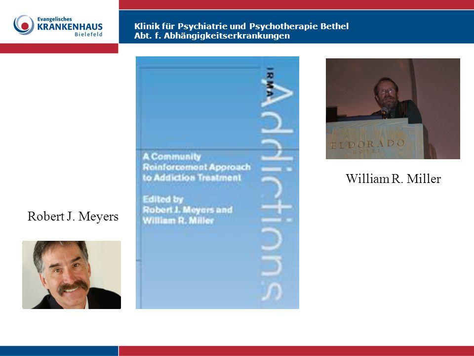 Robert J. Meyers William R. Miller