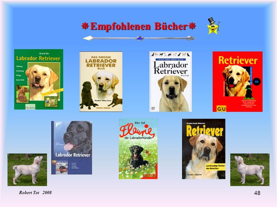 48 Empfohlenen Bücher Empfohlenen Bücher Robert Tot 2008