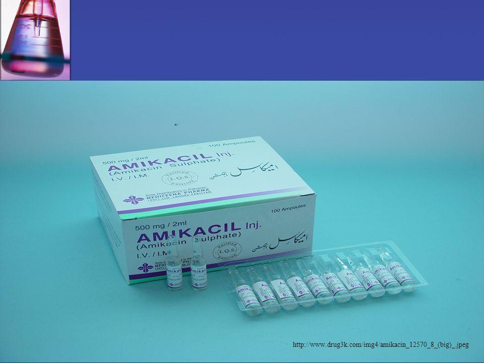 12 Aminoglykoside IndikationenNebenwirkungenBsp. -Präparate - Sepsis - andere schwere Infektionen - Oto-, Vestibulo-, Nephrotoxizität auf Schwindel ac