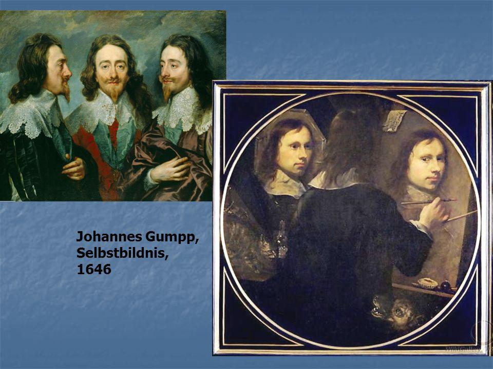 Johannes Gumpp, Selbstbildnis, 1646