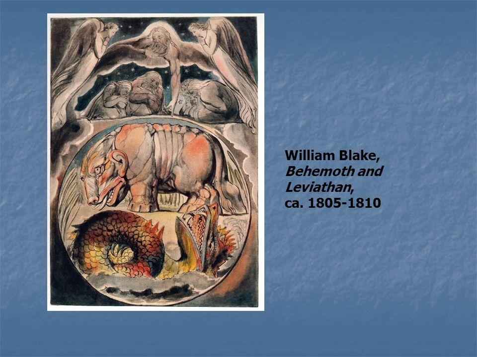 William Blake, Behemoth and Leviathan, ca. 1805-1810