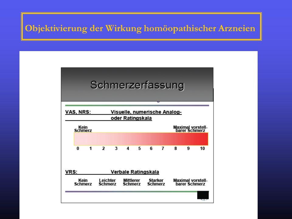 Objektivierung der Wirkung homöopathischer Arzneien