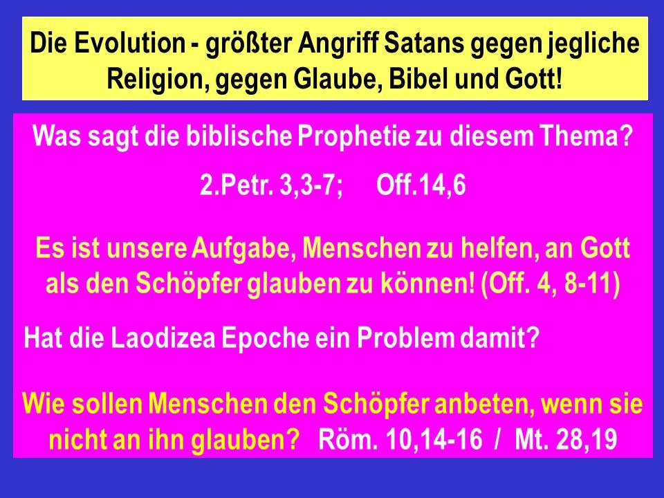 Das 20 Jhdt., das Zeitalter der Wissenschaft und der Bibelkritik. Glaube gegen Vernunft! Glaube nur für ungebildete Leute! ( Apg. 4,13) Bedeutet Glaub