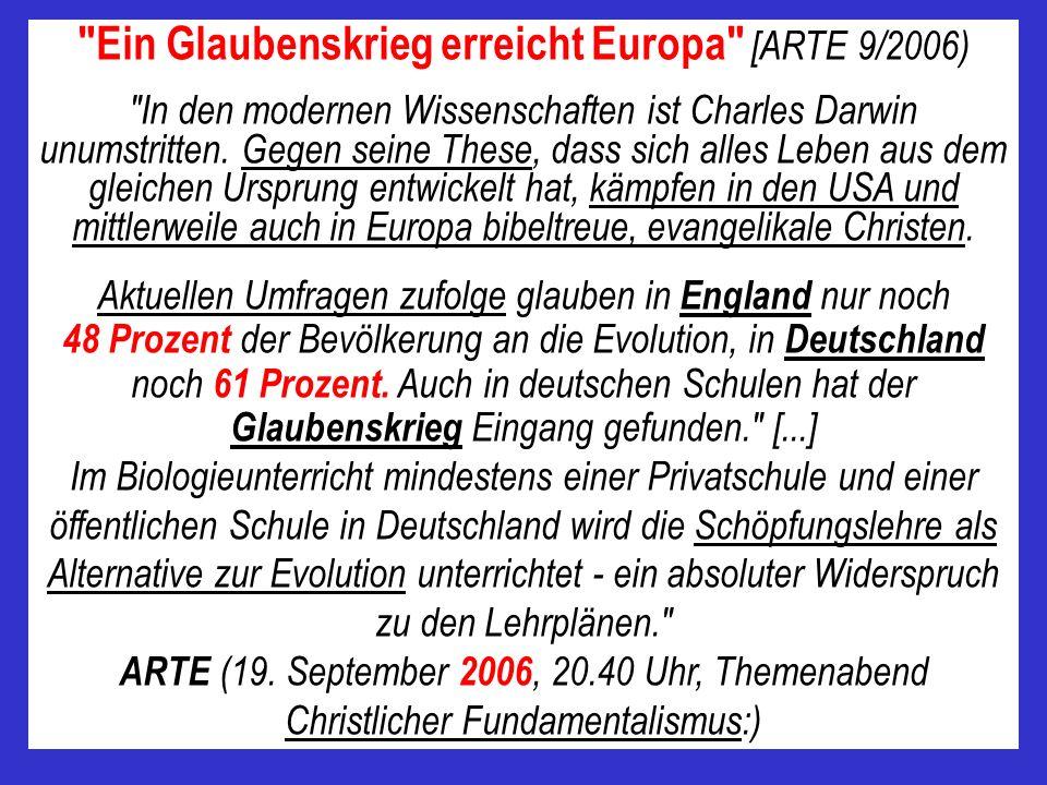 Prof. Dr. Ulrich Kutschera (22.06.2006, Evolutionsbiologe, Götter, Geister und Designer müssen draußen bleiben, Laborjournal 6/2006)